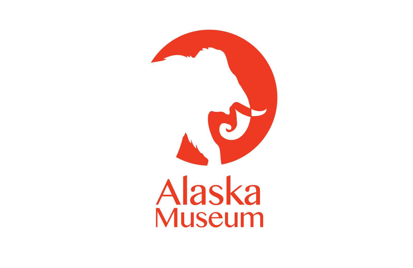 red mammoth alaska museum logo